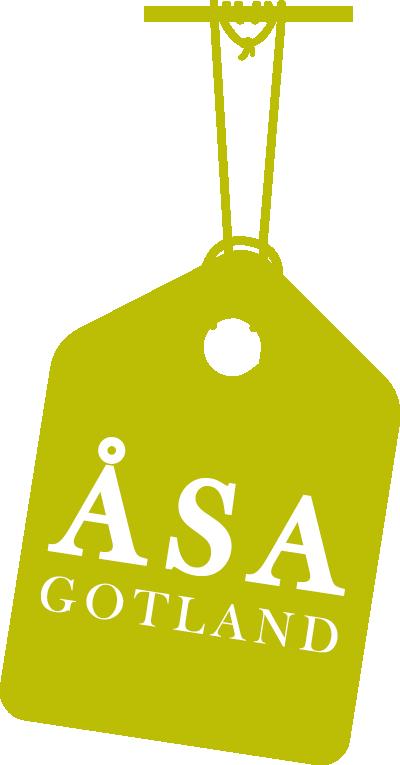 Åsa Gotland logo etikett