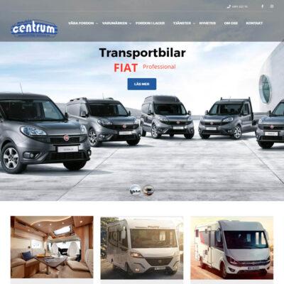 Maskincentrum i Bockara webbplats