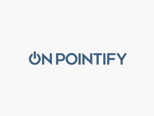 On Pointify logo